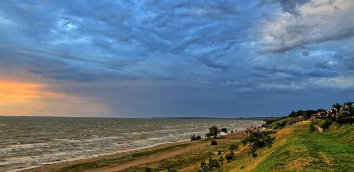 Бархатный сезон на Азовском море